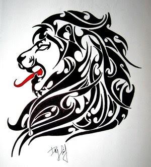 Знак зодиака лев мужчина тату фото