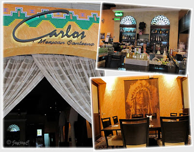 Captures of Carlos Mexican Canteena, a restaurant and bar at Pavilion KL