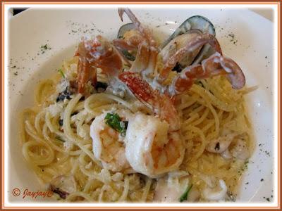 Spaghetti Seafood at Carlos Mexican Canteena, Pavilion KL