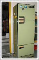 Our old Toshiba 3-door refrigerator (MODEL: GR-333ESV)
