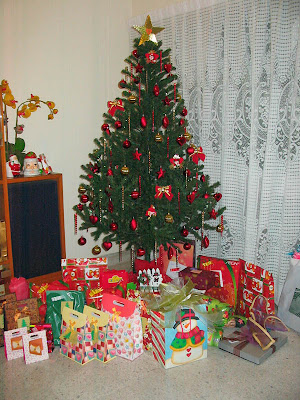 Our 2008 Christmas tree
