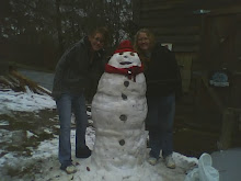 Amber, Henry the Snowman, and Tammy