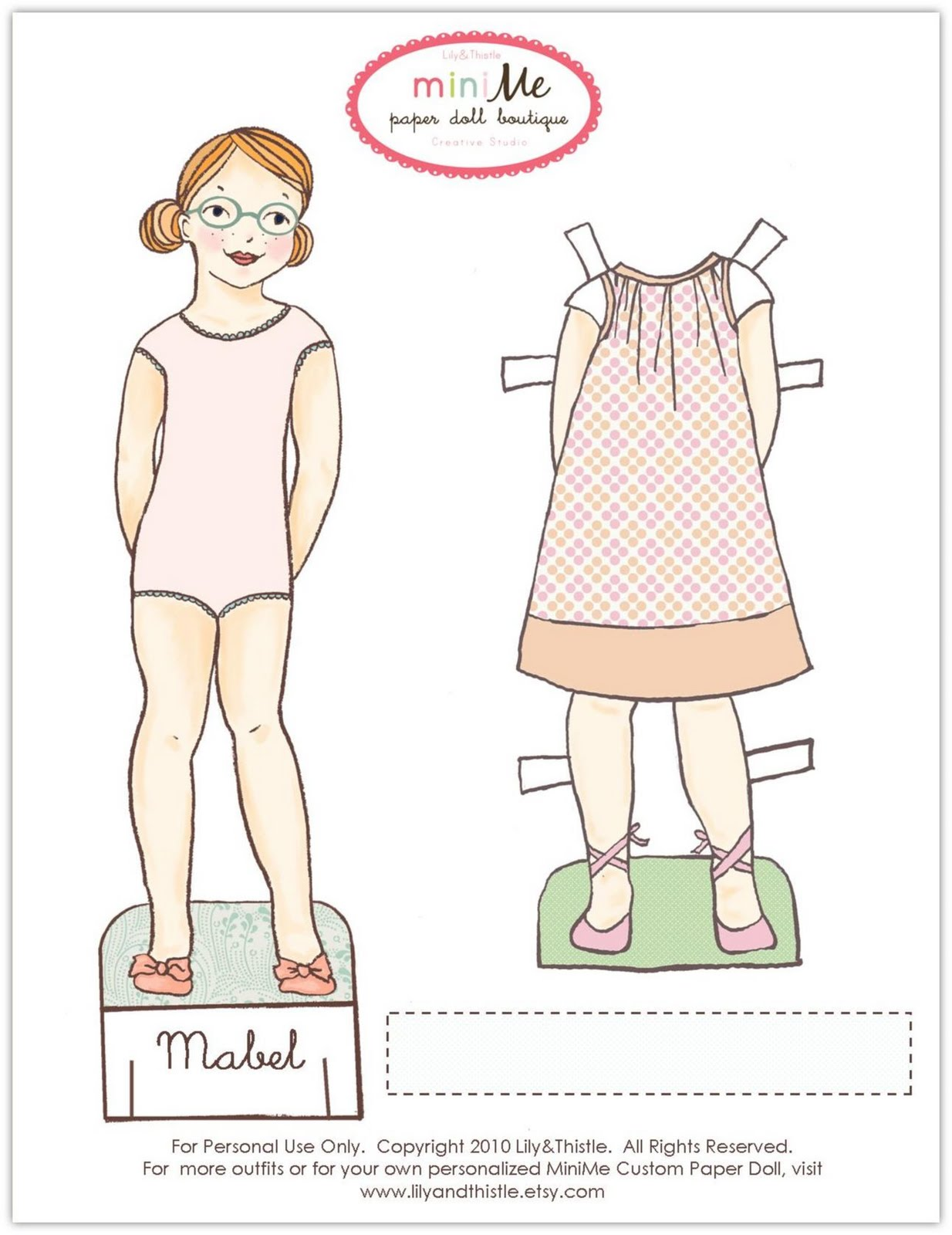 Enterprising image within paper dolls to printable