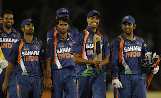 Indian team after Asia Cup win