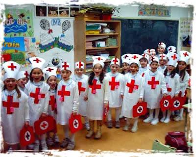 disfraz de enfermera para escolares