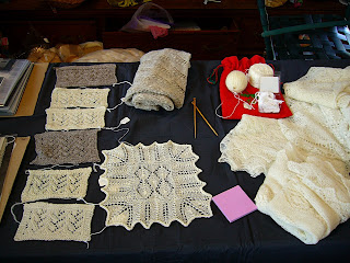 swatches and shawls