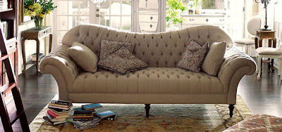 January Pitter Patter - Arhaus club sofa