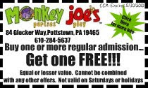 Monkey joe's discount coupons