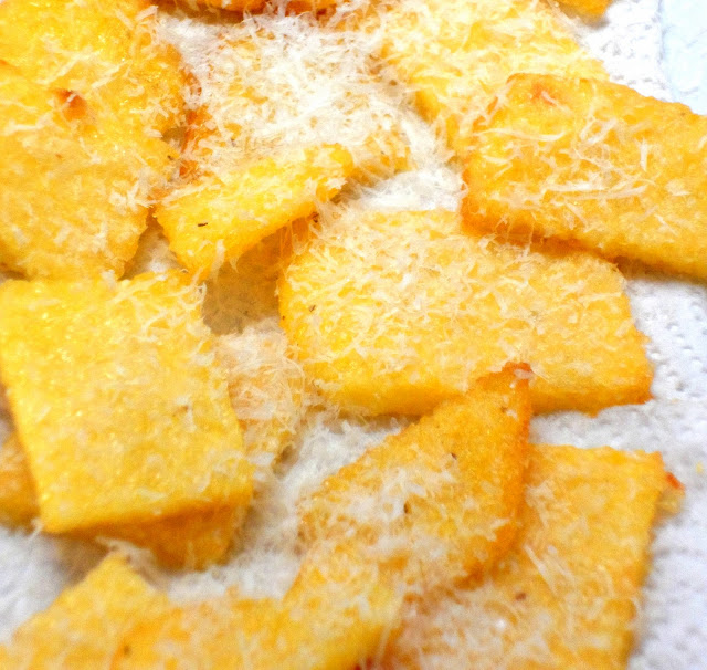 koek!: Crispy, creamy Parmesan polenta squares (i.e. heaven)