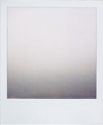 Erin Curry art- Haystack polaroid fog water