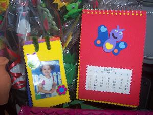 Calendario 2011 y Miniportaretrato