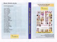 Cartel Exposición correos con el Arte (València)