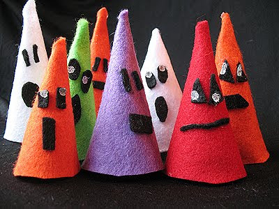 Halloween Felt Ghouls: Last Minute Easy Craft For Kids