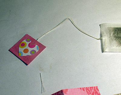 make valentine tea bags crafts by amanda