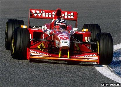 Equipe Williams de Formula 1 de 1998 - Getty Imagem - f1fanclub.pl