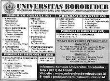 Fake Degree Producer of Ratu Atut Chosiyah, Universitas Borobudur Jakarta Timur, 2008