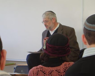 Rabbi Moshe Simkovich speaking