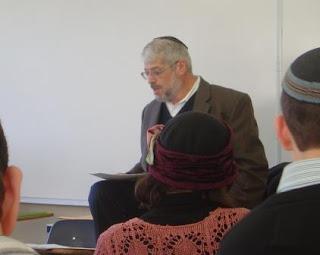 Rabbi Moshe Simkovich speaking