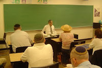 R' Dr. David Berger speaking at YCT's Yemei Iyun, 2007