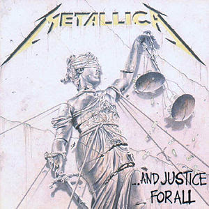 and justice for all metallica cover image