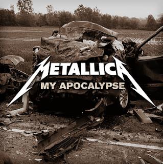 My Apocalypse Metallica Single Cover Picture Death Magnetic