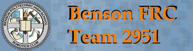 Benson FRC Team 2951