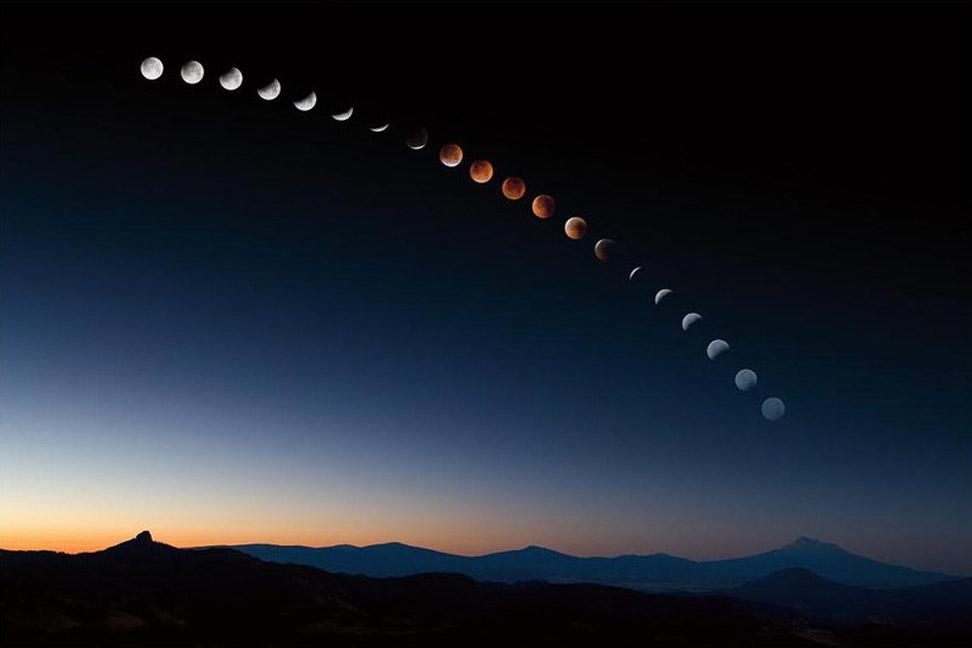виды луны фото