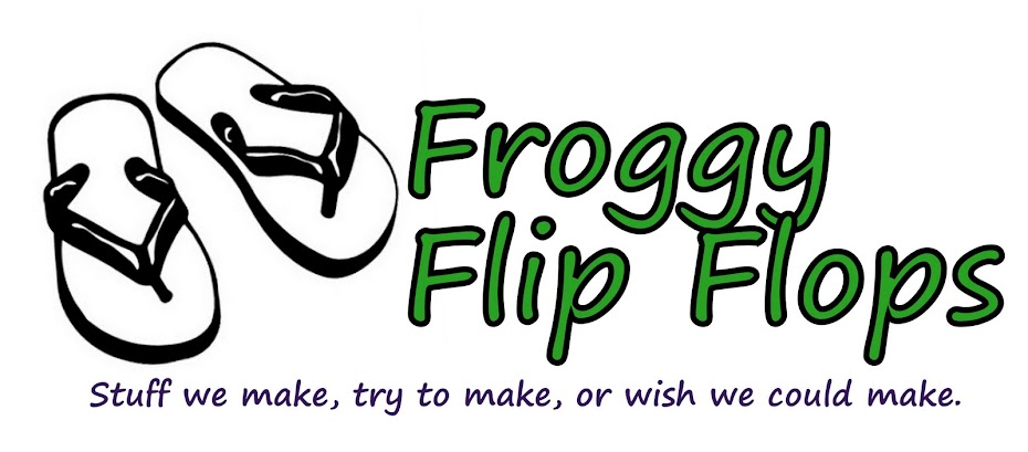 Froggy Flip Flops