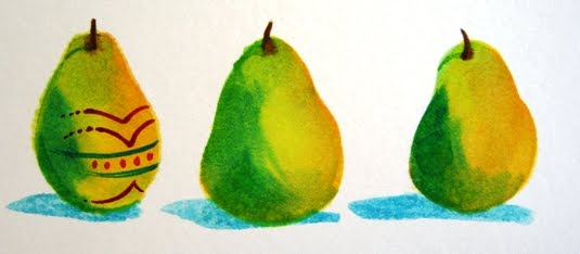 Easter Pear      Step 3