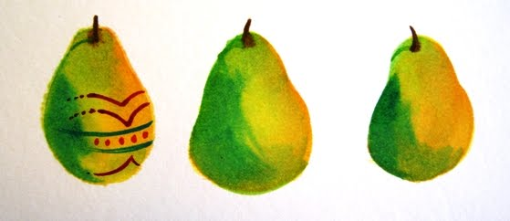 Easter Pear Step 2