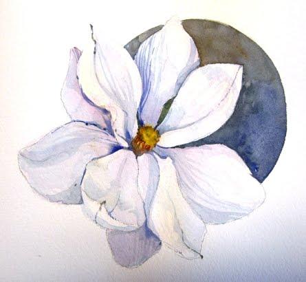Original Watercolor - Magnolia A....