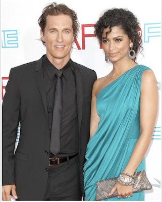 Camila alves and Matthew Mcconaughey Married