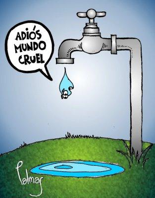 Daniel el cuidado del agua planeaci n for Llave tirando agua