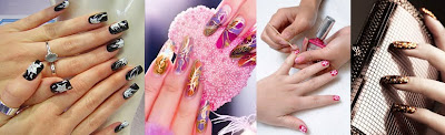 Acrylic Nail Art Design Picture-1