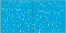 Uma chuva cor azul marca-texto. Não é linda?