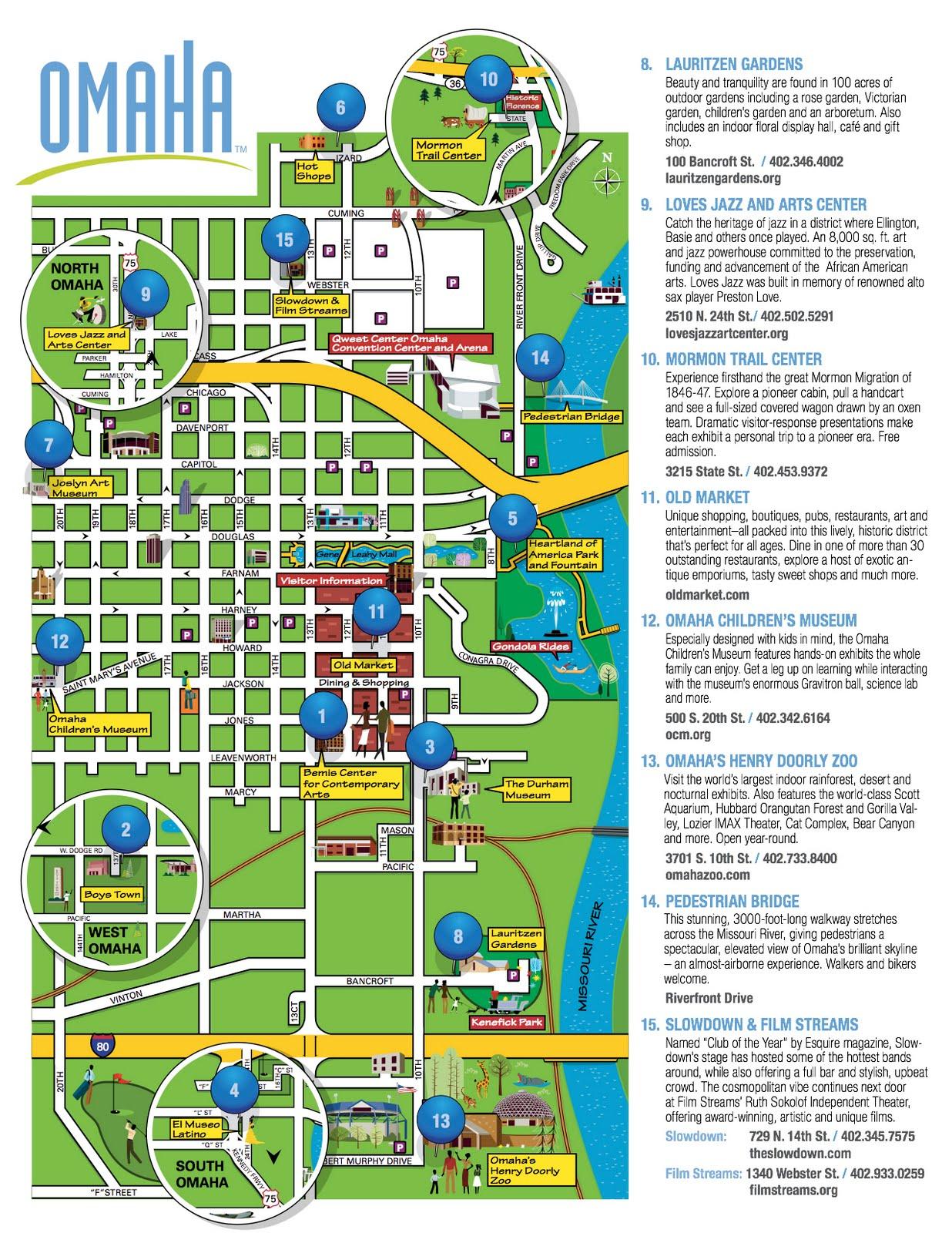 Nebraska Discoveries 12 Lauritzen Gardens Omahas Botanical – Omaha Tourist Attractions Map