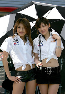 Sexy Umbrella Girls