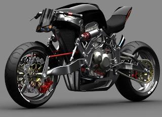 Fallout Motorbike Automotive Concet