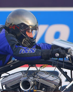 Wendy's Top Fuel Harley Davidson