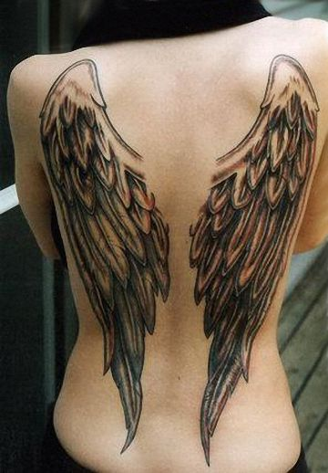 Angel TattoosFeel Wings to Fly
