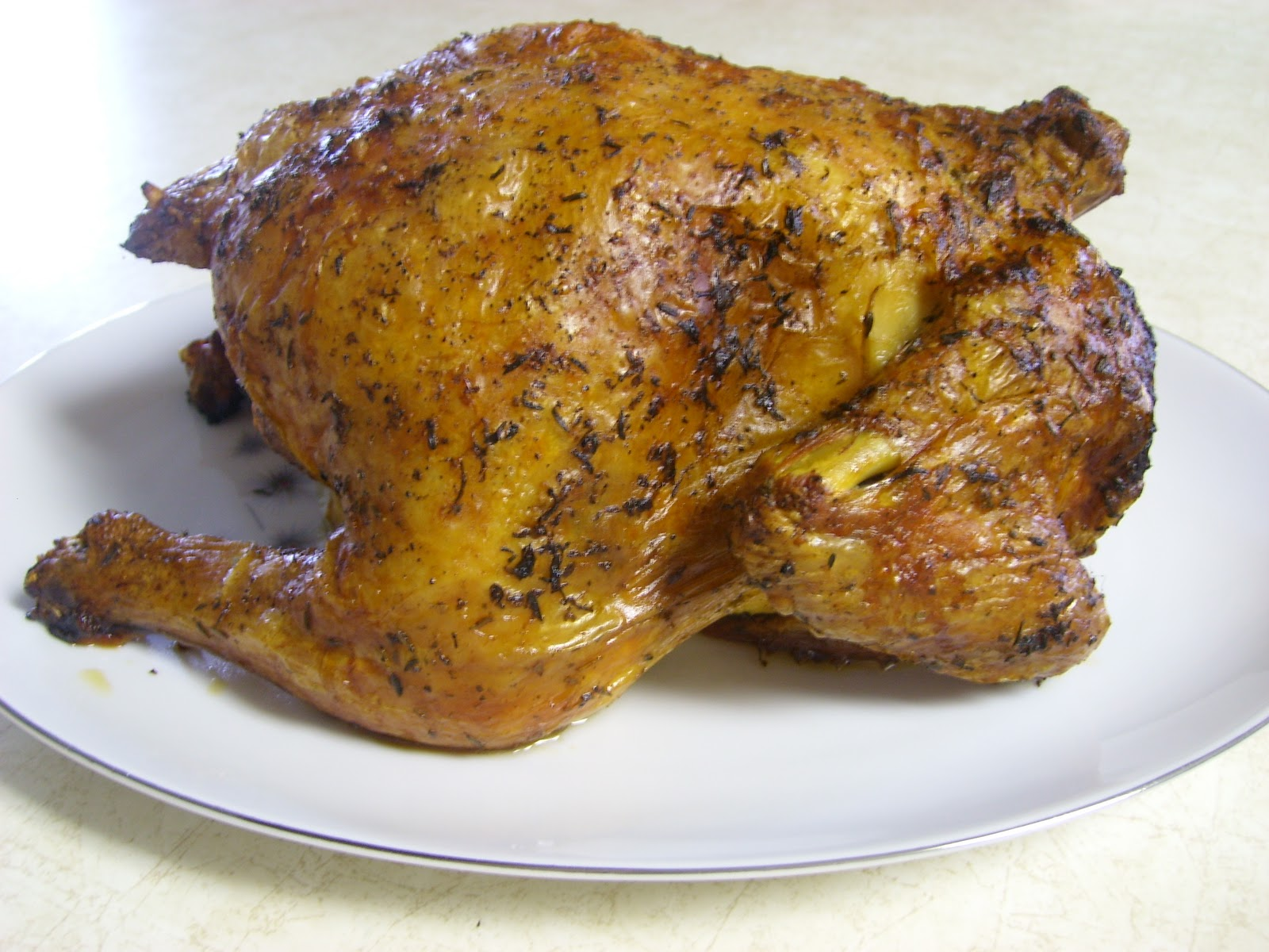 Adorkable Recipes: Herb Roasted (Whole) Chicken