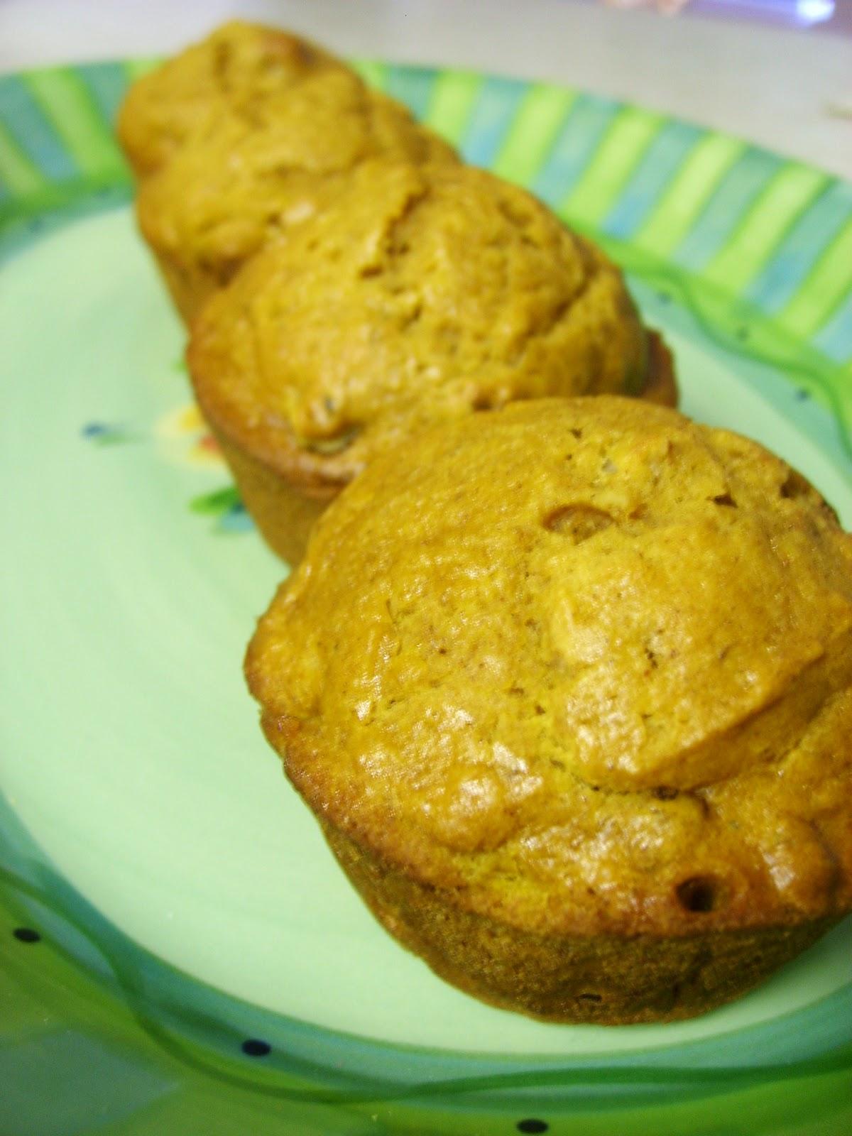 Adorkable Recipes: Pumpkin Ginger Nut Muffins