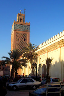 The Kasbah Mosque, impressive in the late afternoon sunshine