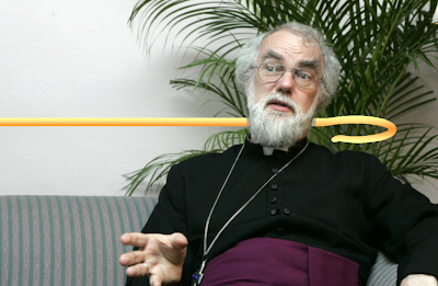 Indigo Roth's Rowan Williams, Archbishop of Canterbury, Super-Rare Holographic Clergy