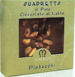 QUADRETTO LATTE E PISTACCHI