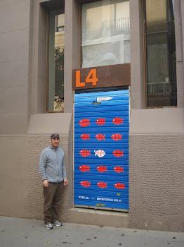 Mural en Barcelona- 2010
