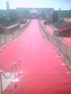 O 'Red Carpet' do evento