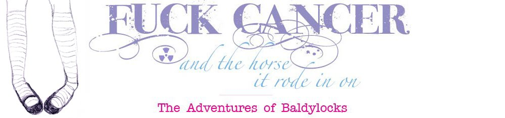 The Adventures of BaldyLocks -Cancer Blog