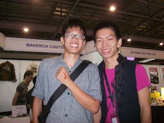 Zhi Han and me