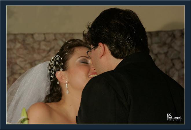 ... o beijo mais esperado da vida de um casal
